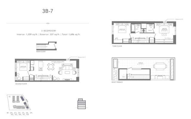 Clonmore Urban Towns Floor plan #2