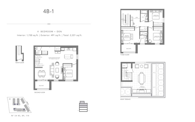 Clonmore Urban Towns Floor plan #1