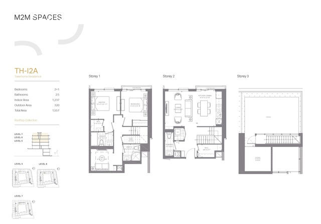 M2M SPACES Floor plan #3