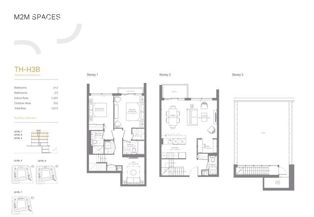 M2M SPACES Floor plan #2