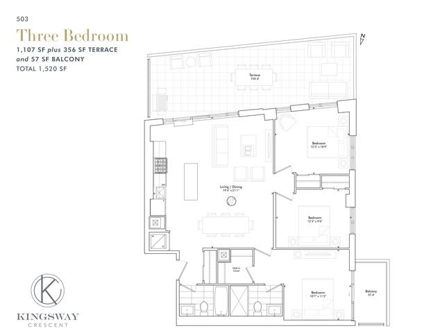 Kingsway Crescent Floor plan #3
