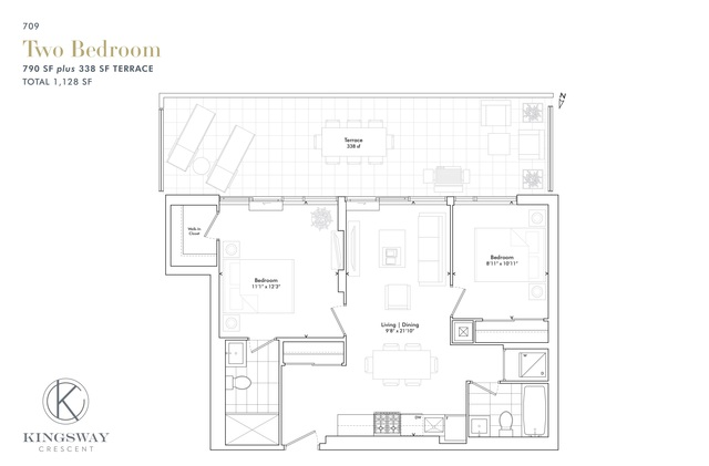Kingsway Crescent Floor plan #2