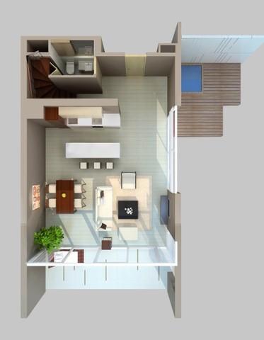 Two bedroom suite in Laguna Phuket Floor plan #2