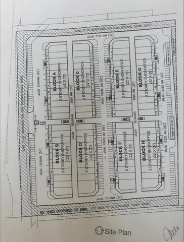NSK kuchai Lama Floor plan #1