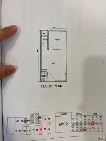 Arte Mont Kiara Floor plan #3