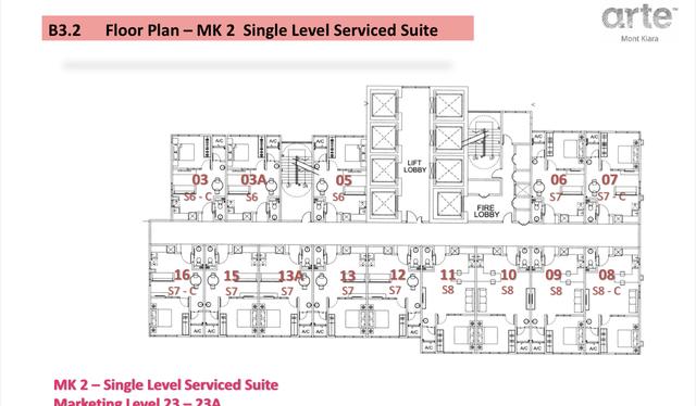 Arte Mont Kiara Floor plan #2
