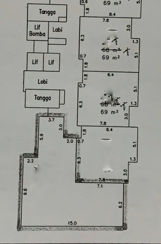 Kiaramas Gateway Floor plan #2