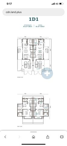 Eco Forest, Semi-D House, Semenyih, Broga Hill Floor plan #1