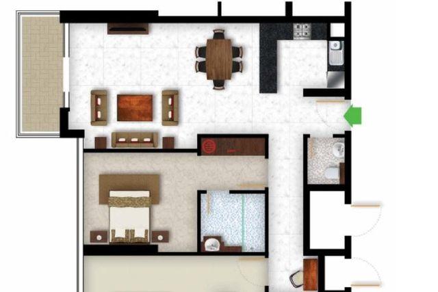 Avenue Residences 1 Building Floor plan #1